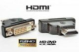 HDMI-DVI Adapter 19x24+1 M-F